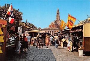 Netherlands Groningen Vismarkt Market Place