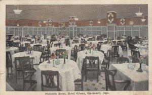 CINCINNATI , Ohio , 1918 ; Fountain Room , Hotel Gibson