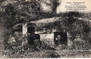 Dolmen de Kerguentail. Tregastrei, C. du N.