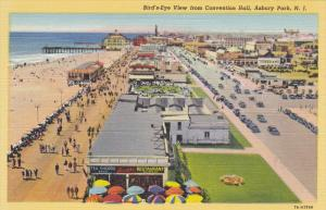 Bird's Eye view from Convention Hall , ASBURY PARK , New Jersey , 30-40s