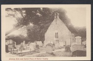 Scotland Postcard - Alloway Kirk and Burial Place of Burns' Family RS10347