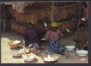 Cotton Hand Spinning,Africa BIN