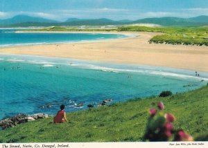 DONEGAL, Ireland, 1950-1960s; The Strand Narin