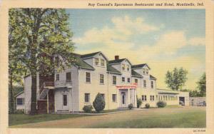 Indiana Monticello Roy Conrad's Sportman Restaurant & Hotel Curteich