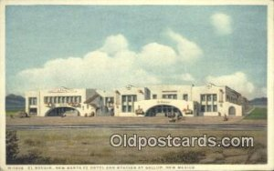 New Santa Fe Hotel & Station, Gallup, NM, New Mexico, USA Depot Railroad Unused