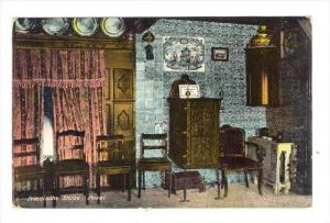 Interior of home  Friesische Stube. Pesel. , Germany , 00-10s