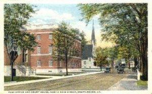 Post Office - Brattleboro, Vermont