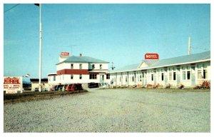 Canada  Cap Aux Os Gaspe P.Q. Hotel-Motel Baie de Gaspe