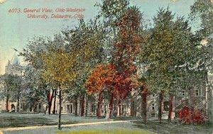 DELAWARE OHIO~GENERAL VIEW~WESLEYAN UNIVERSITY 1911 POSTCARD