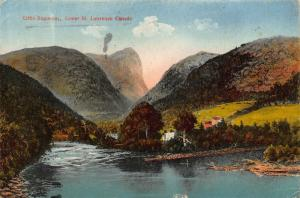 Canada Little Saguenay Lower St Lawrence Postcard