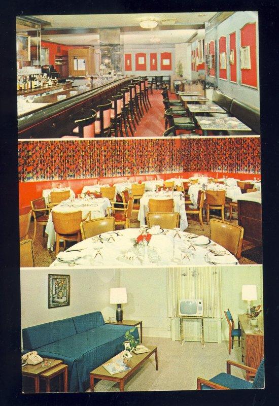 Elizabeth, New Jersey/NJ Postcard, Beach, Elizabeth Carteret Hotel, 1968!