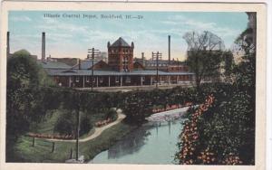 Illinois Rockford Illinois Central Depot