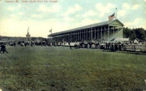 Grand Stand, Maine State Fair Ground in Lewiston, Maine