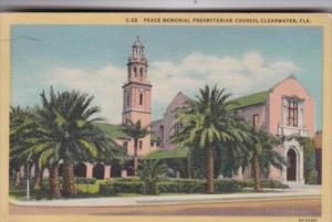 Florida Clearwater Peace Memorial Presbyterian Church 1949 Curteich