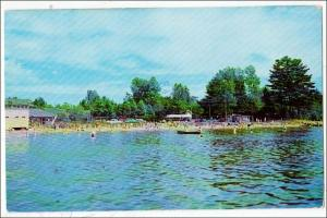 Bathing & Boating at Shermans, Caroga Lake NY