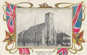 SEAFORTH, Ontario, Canada, 1900-1910's; St. James' Church