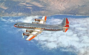 American Airlines Lockheed L-188A Electra Plane N6101A Crashed 1959 postcard