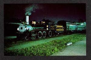 TN Clinchfield Railroad Train KNOXVILLE TENN Postcard Tennessee Postcard