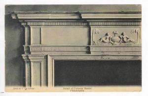 Detail of Colonial Mantel, Philadelphia, Pennsylvania, 1900-10s