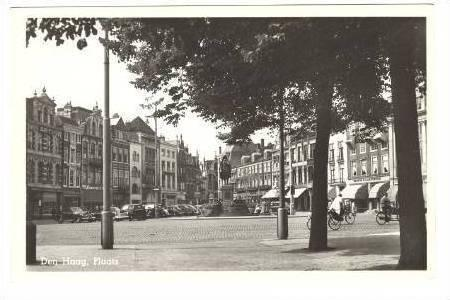 RP  Den Haag/The Hague, Netherlands 1940s Plaats