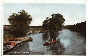 Herefordshire Postcard - On The Wye - Symonds Yat - Showing Rowing Boats  B7