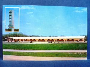 Postcard IL Joliet Motel Rossi Route 66