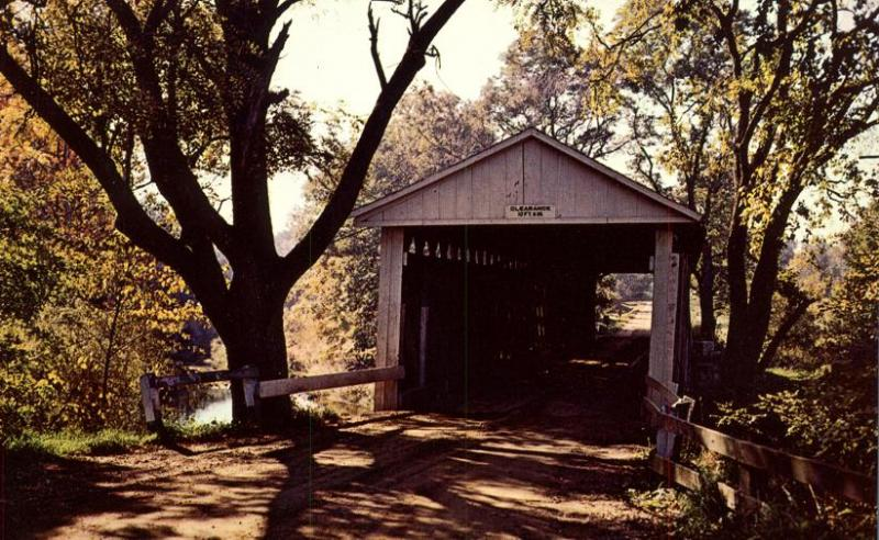 Mill Creek Covered Bridge - North of Eaglesville, Ohio