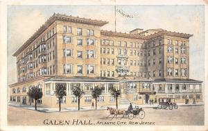 Atlantic City NJ~Galen Hall Hotel~Horse & Carriage~We Are Here~Artist 1911 PC