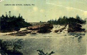 The Falls in Auburn, Maine