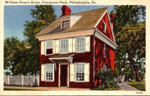 Pennsylvania Philadelphia Fairmount Park William Penn's House