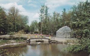 Le Lac Comeau et la Passerelle, Granby Zoological Garden, Quebec, Canada, 40-60s