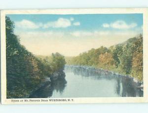 W-Border WATER SCENE Catskills - Wurtsboro New York NY hk2794