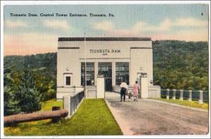 Tionesta Dam Control Tower, Tionesta PA