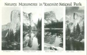 Natures Moments in Yosemite National Park, RPPC Real Phot...