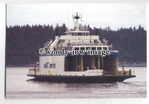 FE1290 - Canadian BC Ferries Ferry - Powell River Queen , built 1965 - postcard