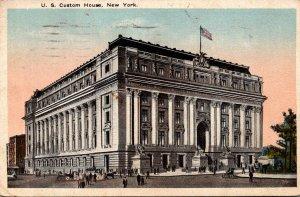 New York City United States Custom House 1917