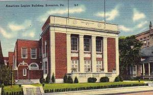 Pennsylvania Scranton American Legion Building