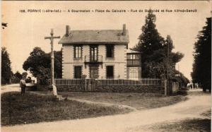 CPA PORNIC A Gourmalon - Place du Calvaire - Rue de Bocande (610860)