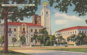 Florida Sarasota Court House 1940