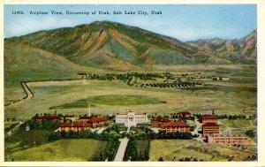 UT - Salt Lake City. University of Utah Aerial View