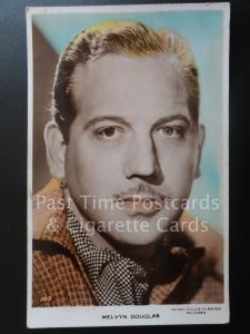 Actor Portrait: MELVYN DOUGLAS Metro Goldwyn Mayer Pictures, Old RP