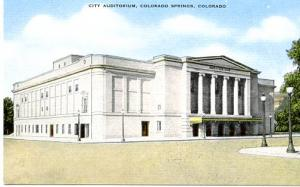 CO - Colorado Springs, City Auditorium
