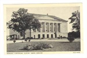 Memorial Auditorium, Raleigh, North Carolina, 00-10s