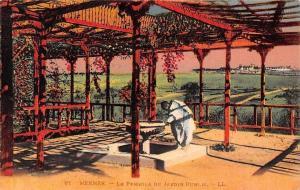 Morocco Meknes - La Pergola du Jardin Public 1930