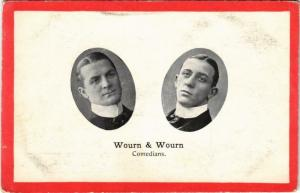 CPA WOURN & WOURN Comedians THEATER STAR (11572)