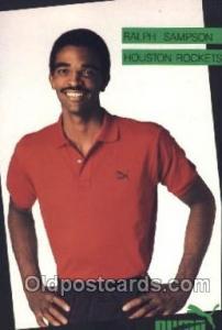 Ralph Sampson Houston Texas, USA Rockets, Puma, Basketball Postcard Postcards...