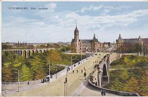 Pont Adolphe, Luxembourg, 1910-1920s