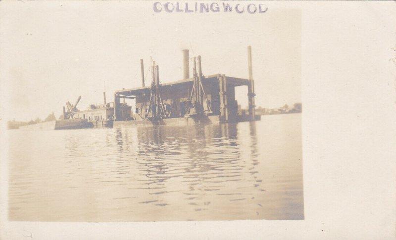 RP: COLLINGWOOD, Ontario, Canada, 00-10s; Dredge Boat