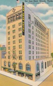 ORLANDO , Florida , 1930-40s ; San Juan Hotel