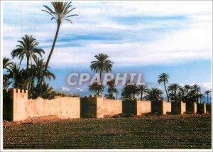 Postcard Modern Marrakech Walls of Marrakech